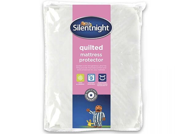 Silentnight Quilted Mattress Protector - King Size (5' x 6'6