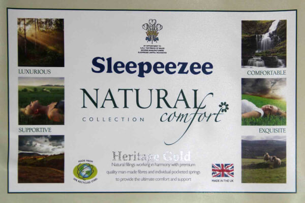 Sleepeezee Heritage Gold Pocket Mattress