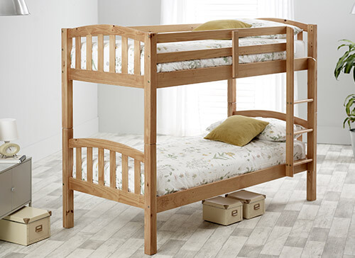 Bedmaster Pine Mya Bunk Bed - Single (3' x 6'3
