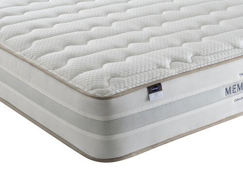 Silentnight 2000 Mirapocket Memory Mattress - Single (3' x 6'3