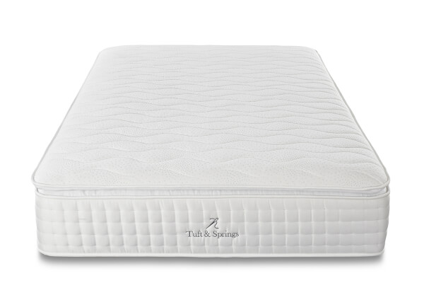 Tuft & Springs Luxuria 1000 Pocket Memory Pillow Top Mattress