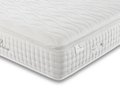 Tuft  Springs Solitaire 2000 Pocket Memory Pillow Top Mattress - Single (3' x 6'3