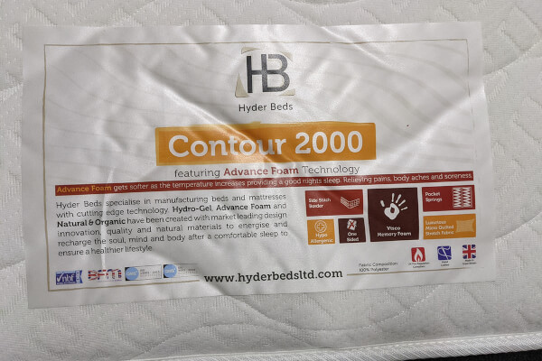 Spring King Contour 2000 Memory Pocket Mattress [Clearance]