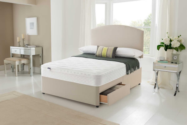 Silentnight Allure Miracoil Cushion Top Divan Set
