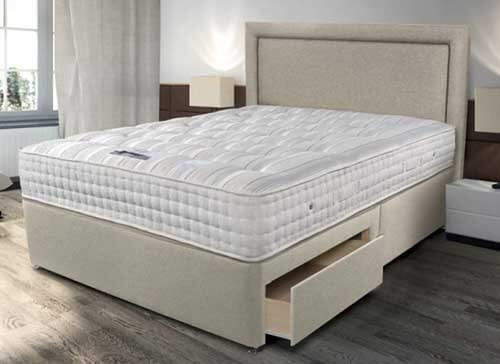 Sleepeezee Backcare Ultimate 2000 Divan Bed Set - Single (3' x 6'3