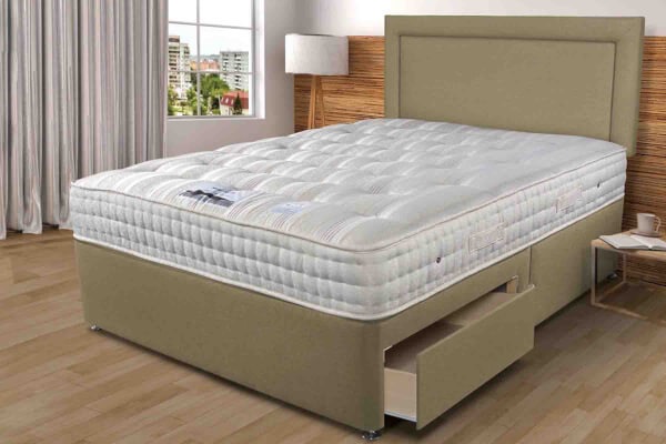 Sleepeezee Backcare Luxury 1400 Divan Bed Set