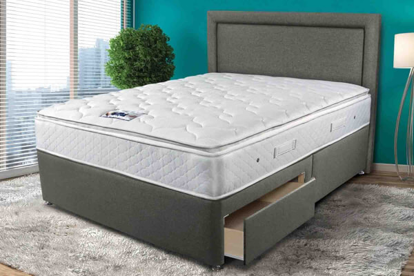 Sleepeezee Memory Comfort 1000 Divan Bed Set