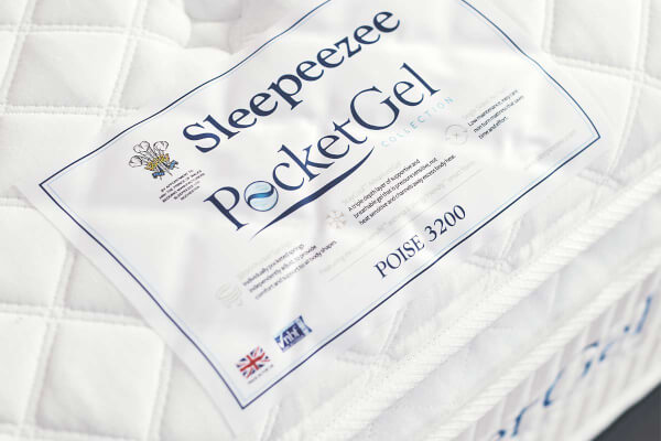 Sleepeezee PocketGel Poise 3200 Divan Bed Set