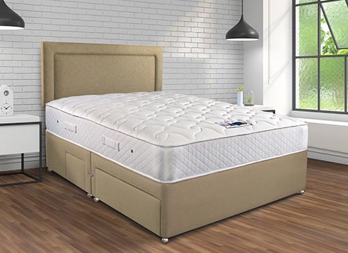 Sleepeezee Memory Pocket Sublime 1200 Divan Set - King Size (5' x 6'6
