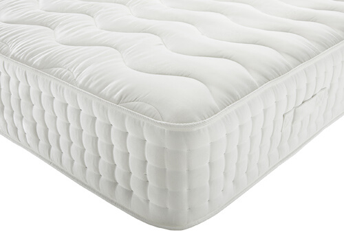 Wool Luxury Soft 2000 Mattress - Small Double (4' x 6'3
