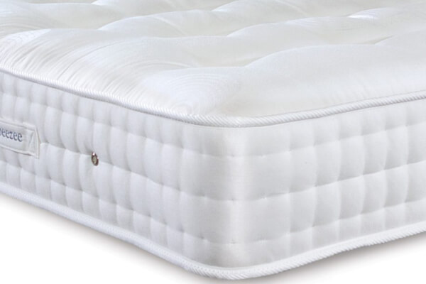 Sleepeezee Wool Deluxe 1200 Pocket Mattress
