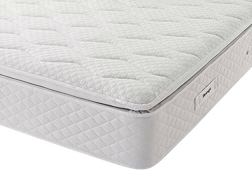 Silentnight Aspen Miracoil Geltex Pillowtop Mattress - Single (3' x 6'3