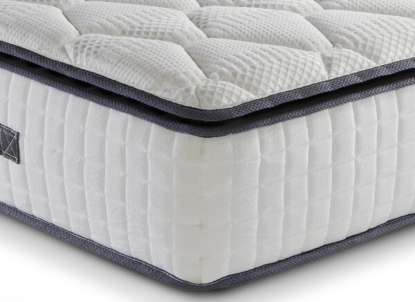 SleepSoul Bliss 800 Pocket Memory Pillow Top Mattress - Single (3' x 6'3