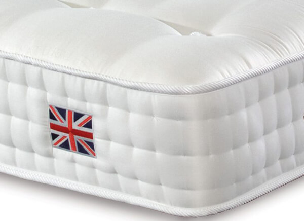 Sleepeezee Perfectly British Strand 1400 Mattress - Single (3' x 6'3