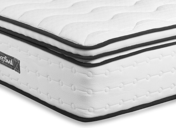 SleepSoul Space 2000 Pocket Memory Pillow Top Mattress - Double (4'6