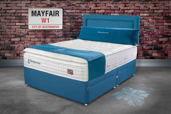 Sleepeezee Perfectly British Mayfair 3200 Divan Bed Set