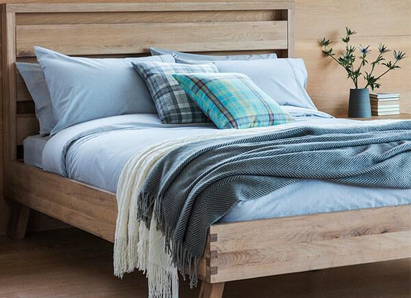 Frank Hudson Living Kielder Bed Frame - Double (4'6