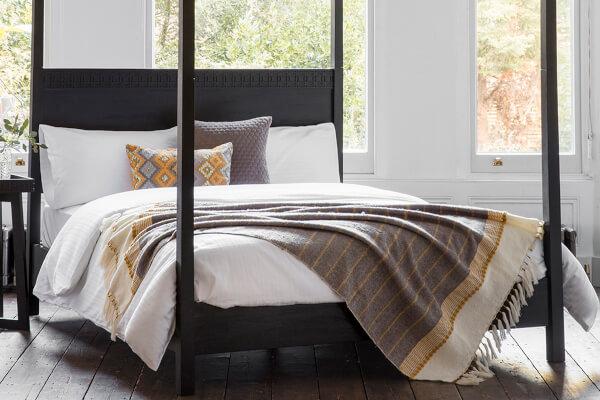Frank Hudson Living Boho Boutique Bed Frame - King Size (5' x 6'6