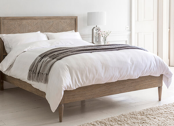 Frank Hudson Living Mustique Bed Frame - King Size (5' x 6'6