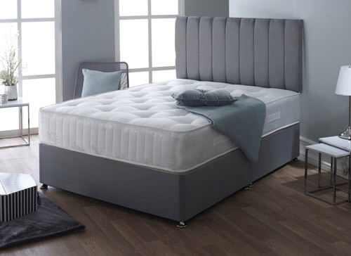 Madrid Pocket Superior 1000 Divan Set - Super King (6' x 6'6