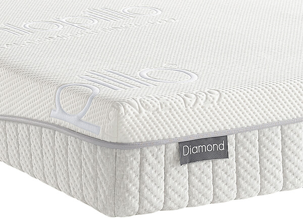 Dunlopillo Diamond PLUS Mattress - Super King (6' x 6'6