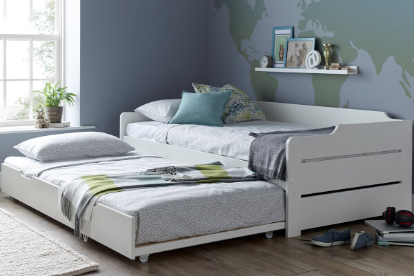 Bedmaster Copella White Guest Bed