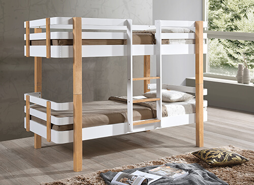 Bedmaster Hudson Bunk Bed - Single (3' x 6'3