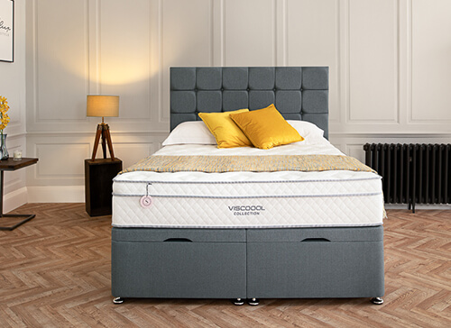 Salus Viscoool Tawny 1900 Mattress - Super King (6' x 6'6