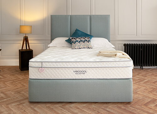 Salus Viscoool Iris 2250 Mattress - Small Double (4' x 6'3
