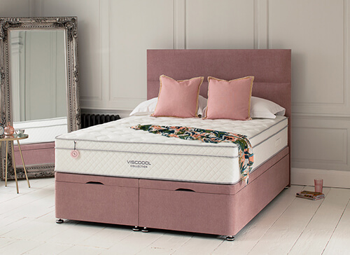 Salus Viscoool Autumn 2650 Mattress - King Size (5' x 6'6