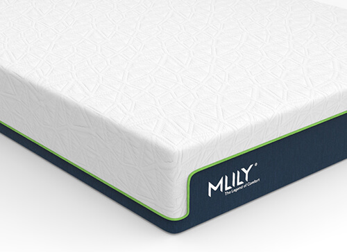 MLILY Bamboo Memory 1500 Mattress - Double (4'6