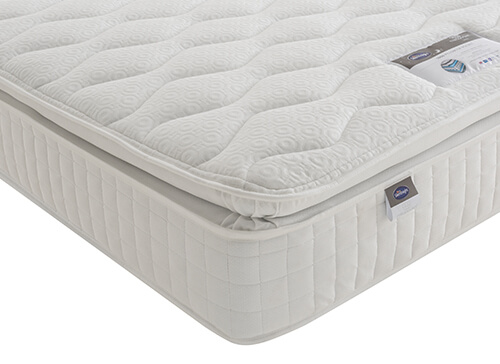 Silentnight 1000 Mirapocket Pillow Top Mattress - Single (3' x 6'3