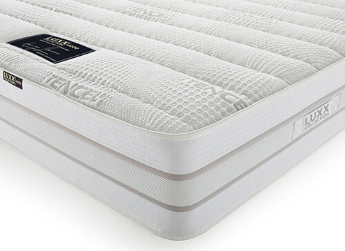 LUXX 4000 Mattress - European Double (140cm x 200cm)