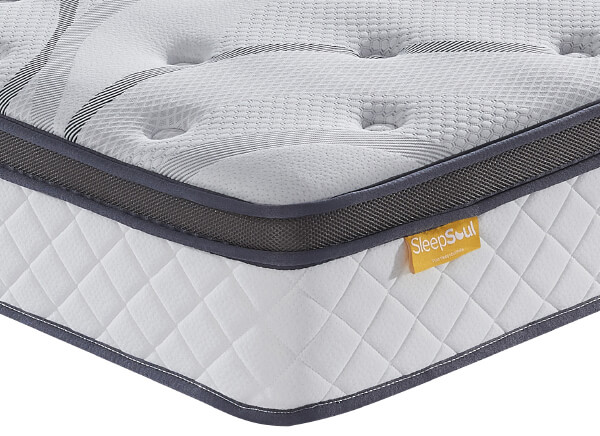SleepSoul Heaven 1000 Pocket Gel Pillow Top Mattress - Double (4'6