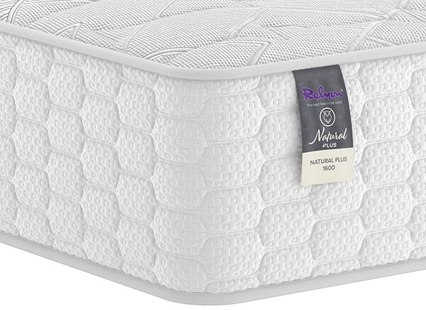 Relyon Natural Plus 1600 Mattress - Super King (6' x 6'6