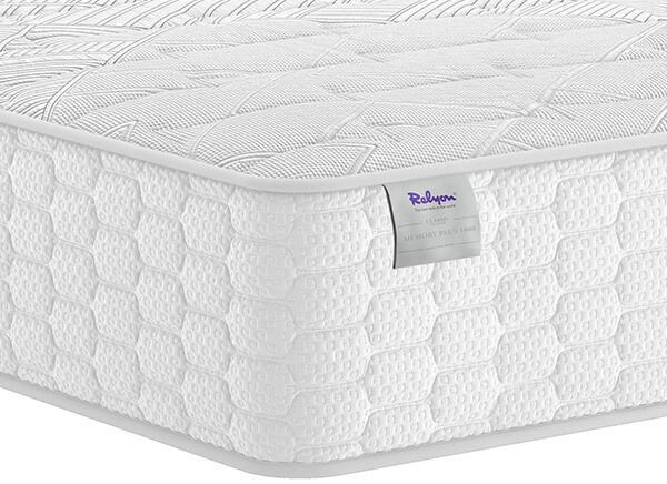 Relyon Memory Plus 1800 Mattress - Super King (6' x 6'6