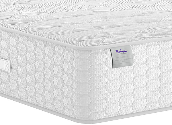 Relyon Latex Memory Plus 2000 Mattress - King Size (5' x 6'6