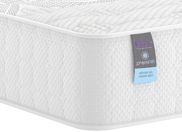 Relyon PremiAIR Repose Gel Fusion 1600 Mattress - Single (3' x 6'3