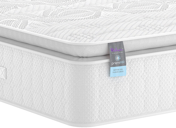 Relyon PremiAIR Repose Gel Fusion 2800 Mattress - Single (3' x 6'3