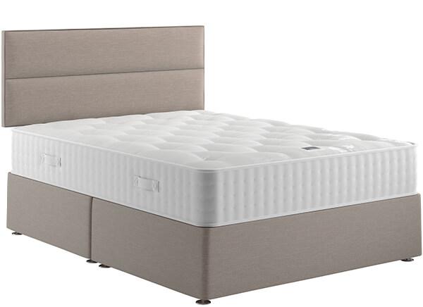 Relyon Natural Luxury 1400 Divan Bed Set - Single (3' x 6'3
