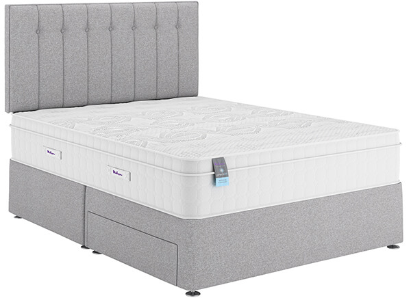 Relyon PremiAIR Repose Gel Fusion 2400 Divan Bed Set - Single (3' x 6'3