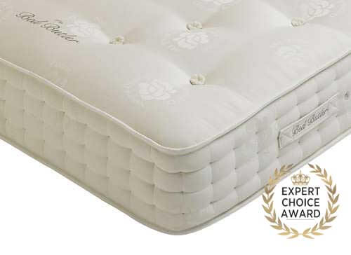 Bed Butler Emperor 2000 Pocket Mattress - Super King Zip & Link (6' x 6'6