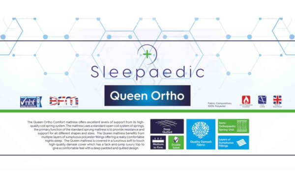Queen Ortho Comfort Mattress