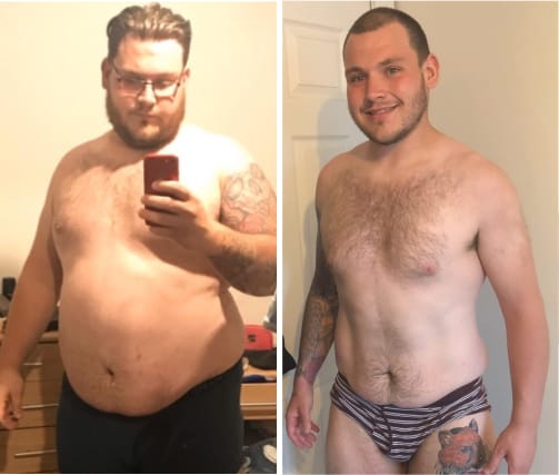 Reece Levy weight loss transformation