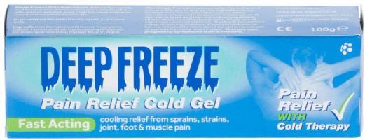 Deep Freeze Pain Relief Cold Gel, 100g