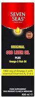 Seven Seas | Cod Liver Oil Liquid - Traditional | 1 x 450ml