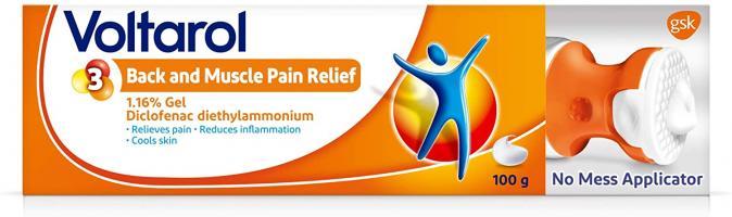 Voltarol Back & Muscle Pain Relief  Gel - 100 g