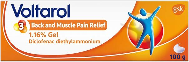 Voltarol Back & Muscle Pain Relief  100 g