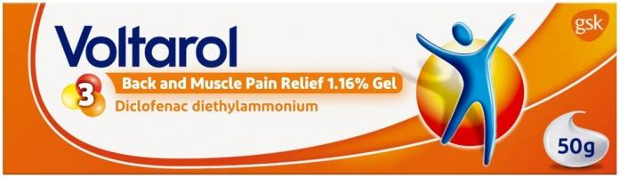 Voltarol Back and Muscle Pain Relief - Gel 50 g