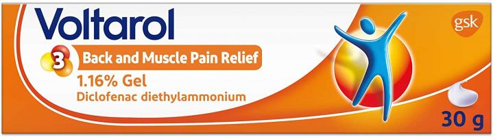 Voltarol Back and Muscle Pain Relief - Gel 30 g